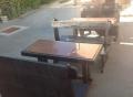Masivne klupe i stolovi, hitno!